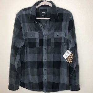 ✨NEW✨VANS Polar Fleece Shirt.  Size M.